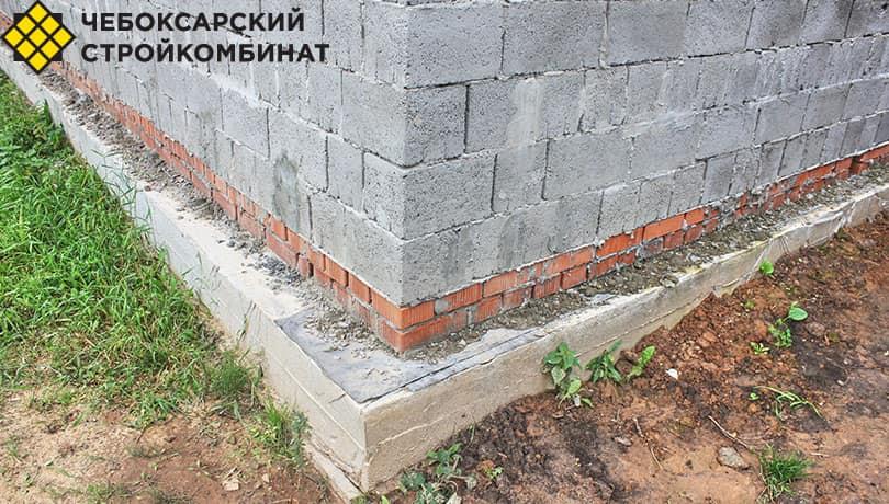 Фундамент под керамзитобетон блоки рюмка для бетона купить в екатеринбурге