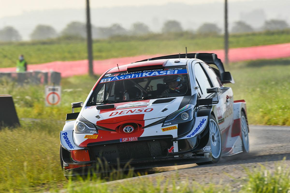 Такамото Кацута и Китон Уильямс, Toyota Yaris WRC, ралли Ипр 2021
