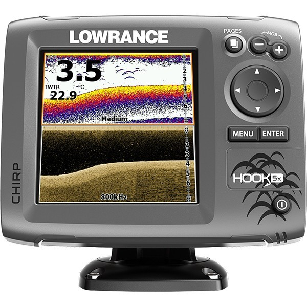 Lowrance HOOK-5x Mid High DownScan