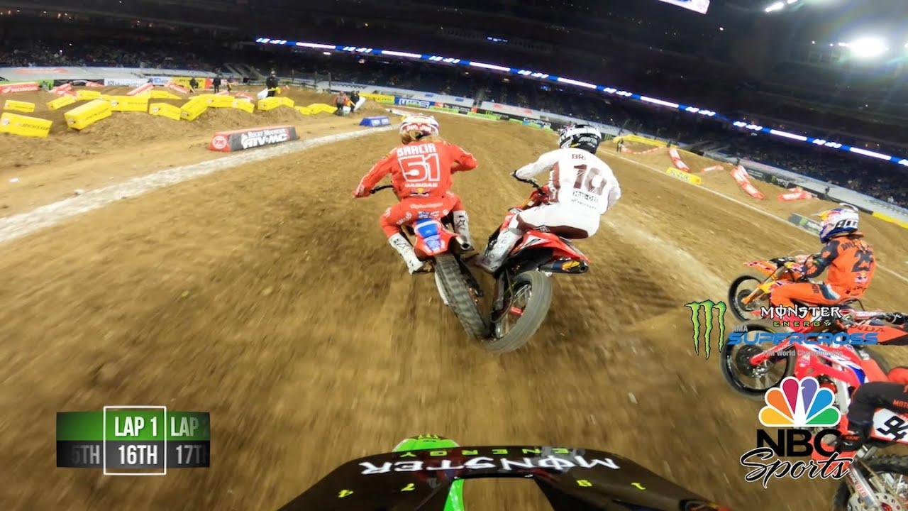 GoPro: Лучшие моменты финала в Хьюстоне с камеры на шлеме Адама Сиансируло