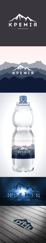 Концепт логотипу для бренду крамнієвої води