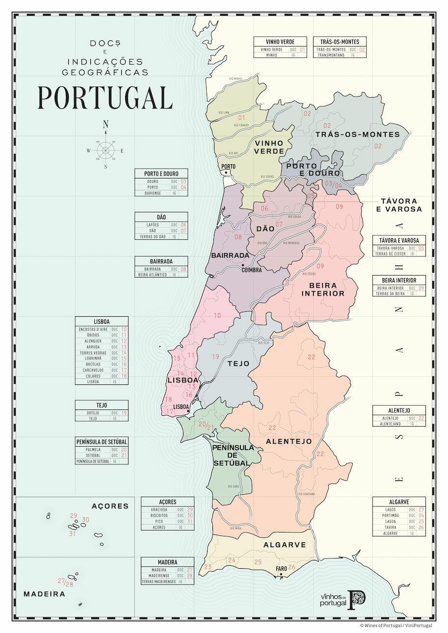 винные регионы португалии