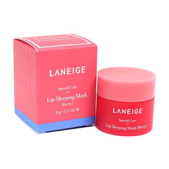 Ночная маска для губ для интенсивного питания и увлажнения Laneige Special Care Lip Sleeping Mask 3G