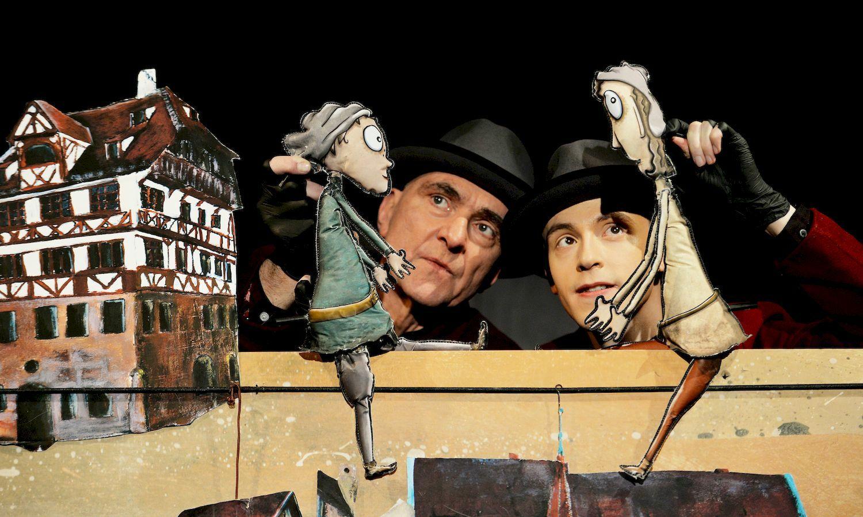 Спектакль «Оскари тайна исчезнувших детей» , фото Берни Мейер