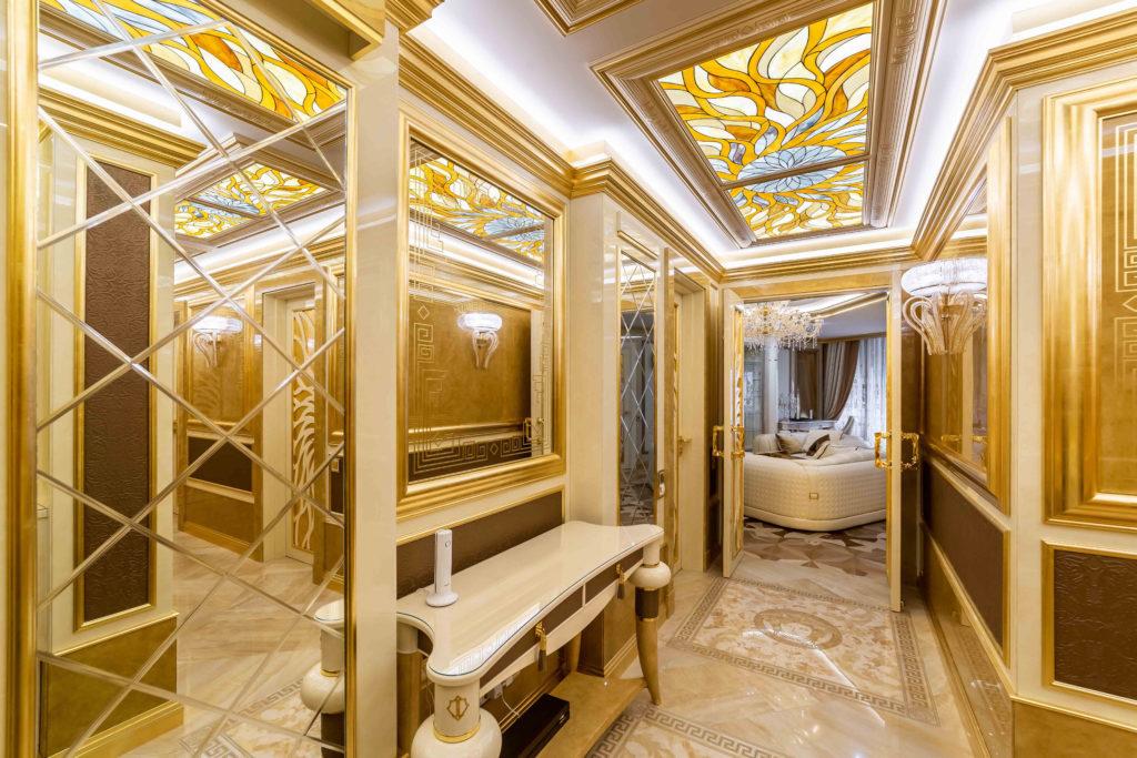 Проект: Amber Fortuna Apartment<br />Компанія: Design-Studio Da&amp;Da