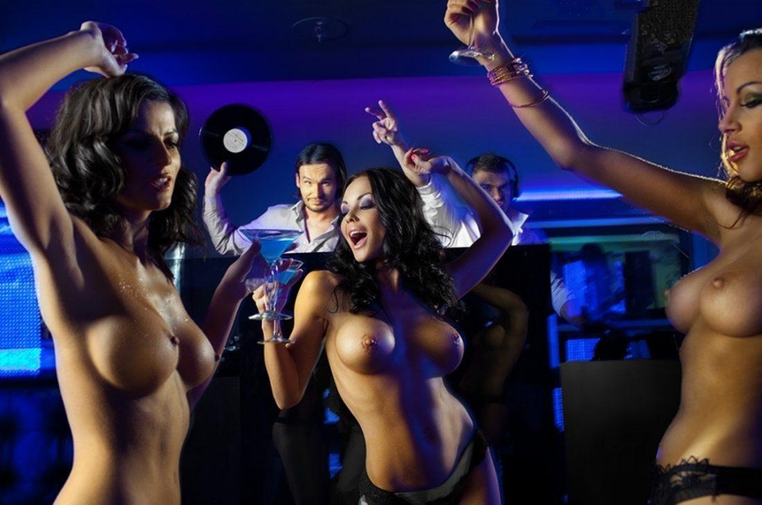 поцелуешь голые телки в клубах видео стороны