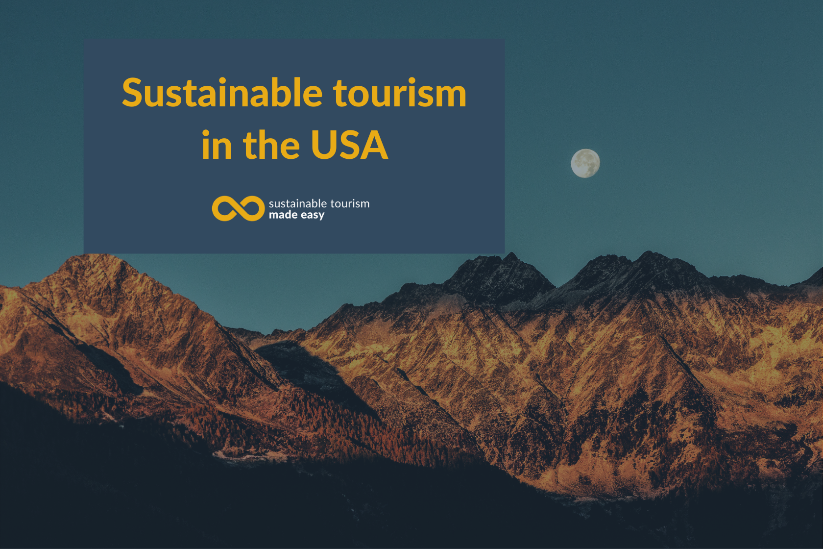 Sustainable tourism in the USA