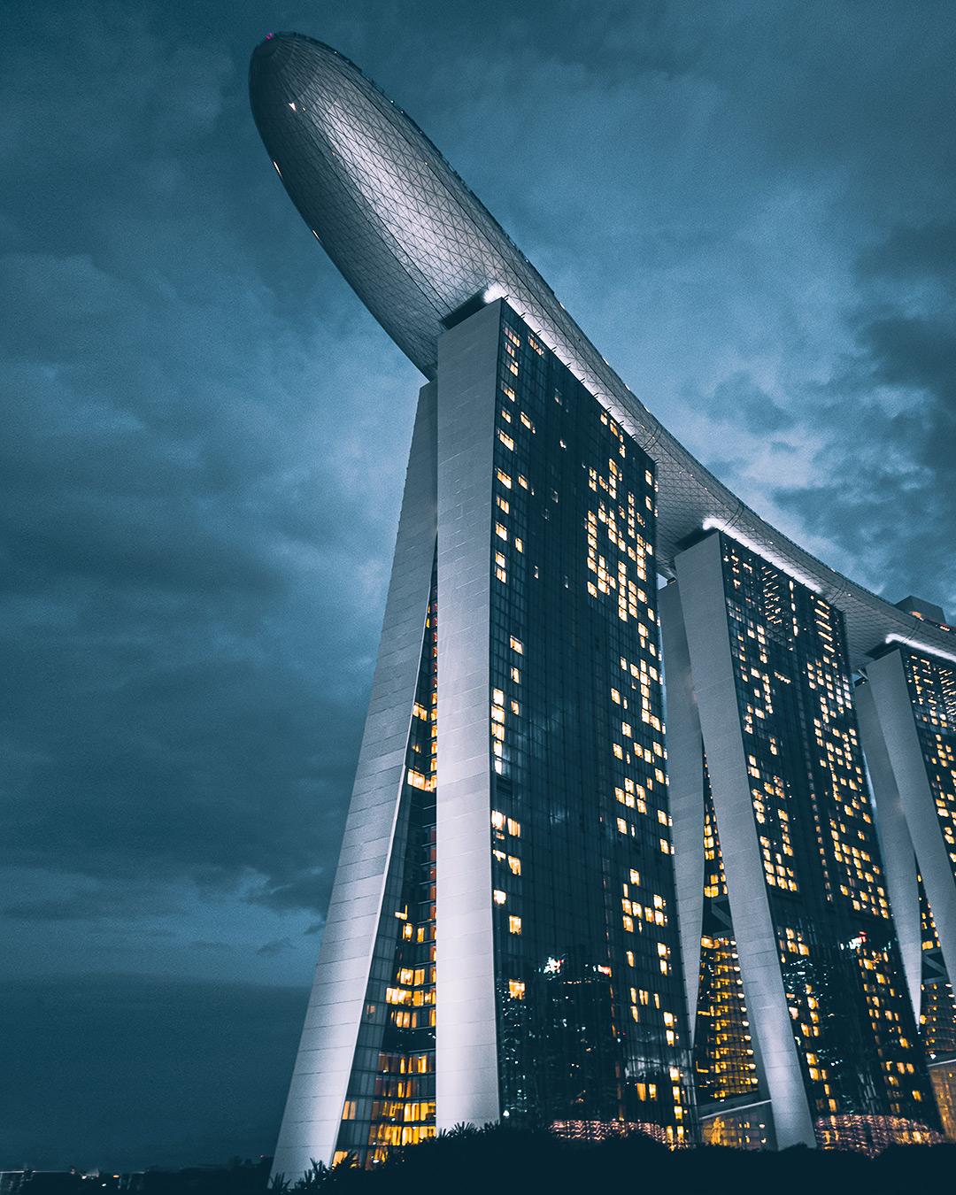 Foto van Instagram Simon Wijers, genomen op reis in Singapore
