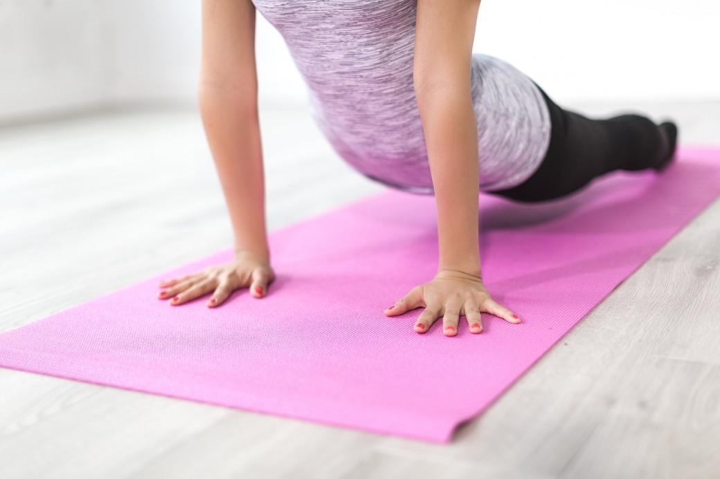 Йога тренировка для спины