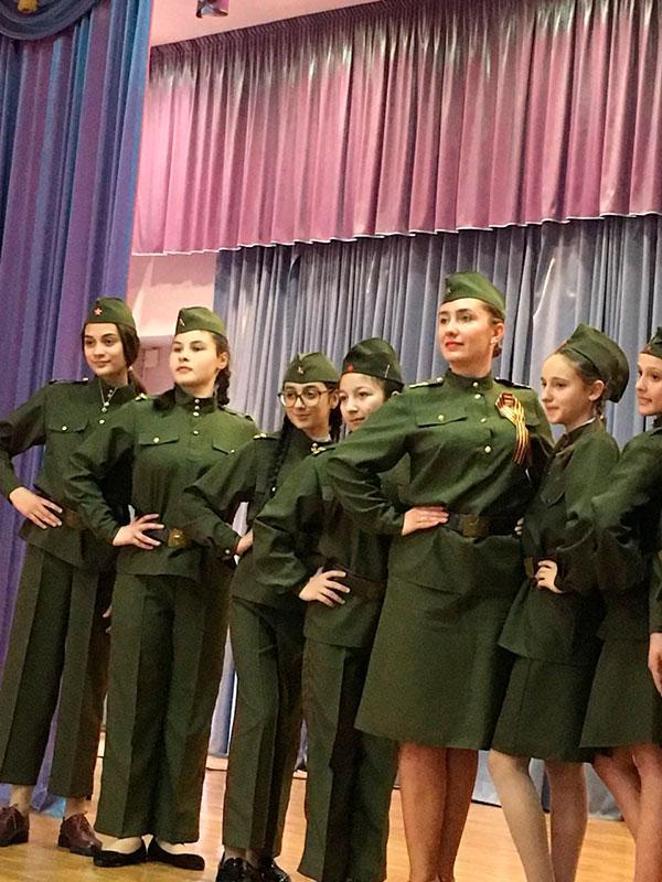 Инсценировка-военной-песни