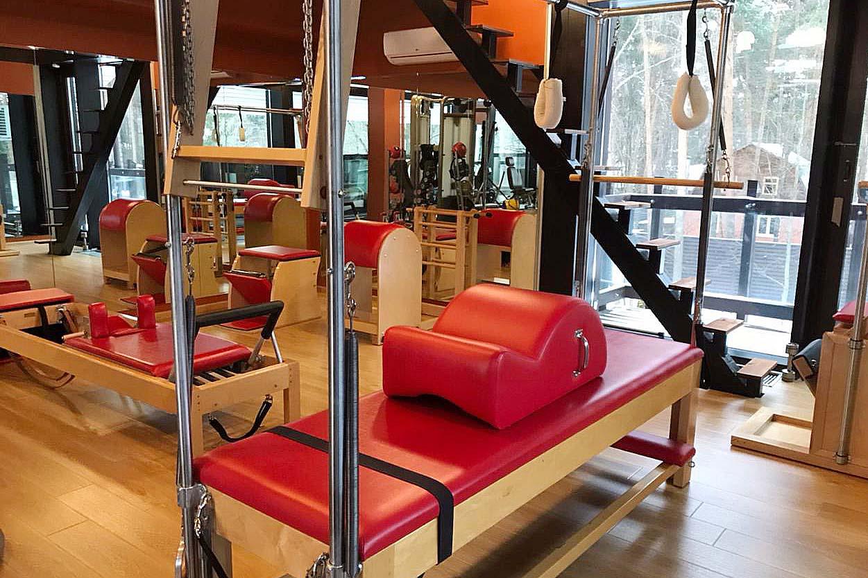 Оборудование для пилатеса фирмы Gratz в сети студий персональных тренировок PRO TRENER
