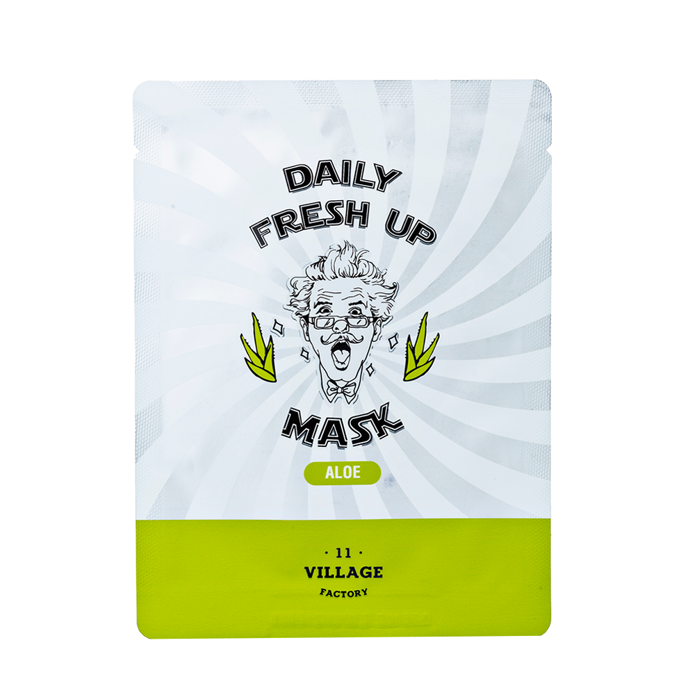Купить Village 11 Factory Daily Fresh Up Mask Aloe, VLF002