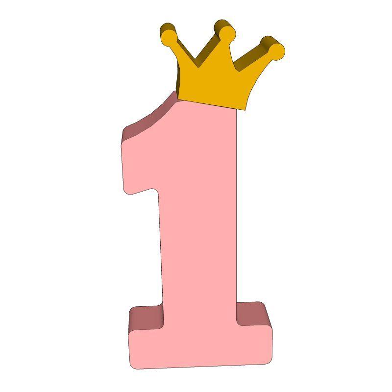 цифра 1 розовая картинка тёплые пожелания