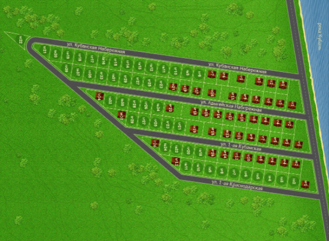 генеральный план кп солнечный берег краснодар