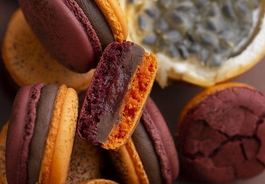 photo of macarons