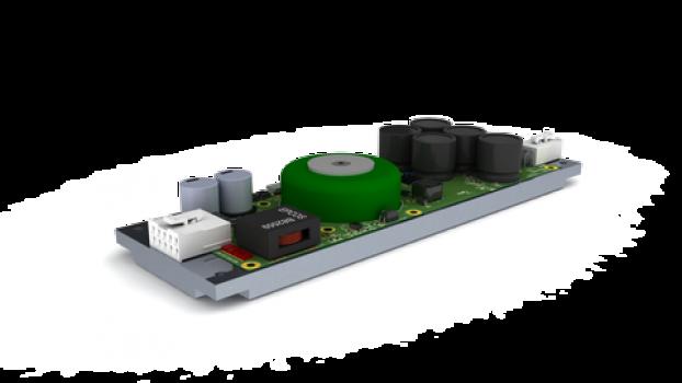 электроника для 16-канального передающего СВЧ-модуля
