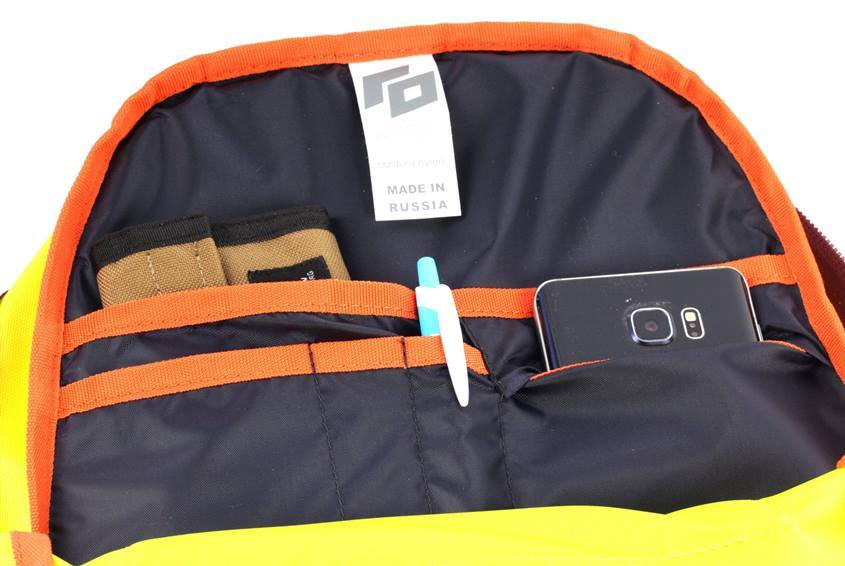 Внутренний органайзер рюкзака ГО