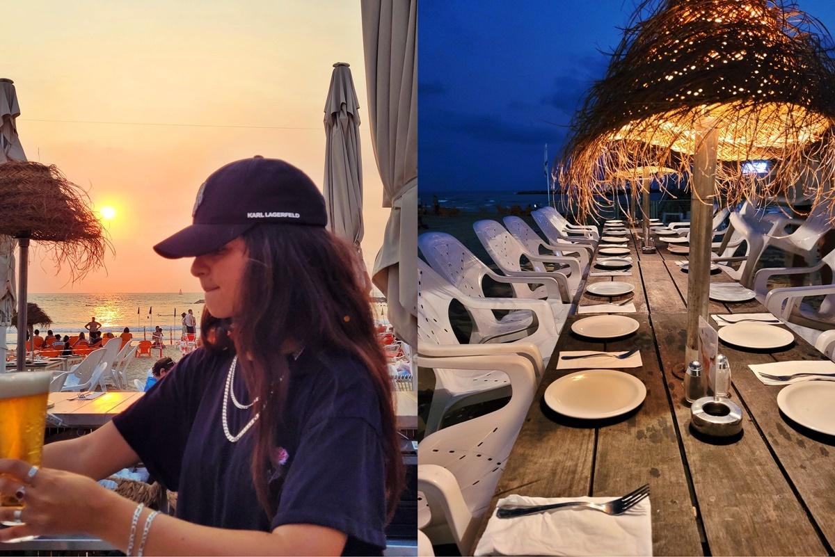 Пляжный ресторан в Тель-Авиве. Подробный рассказ.