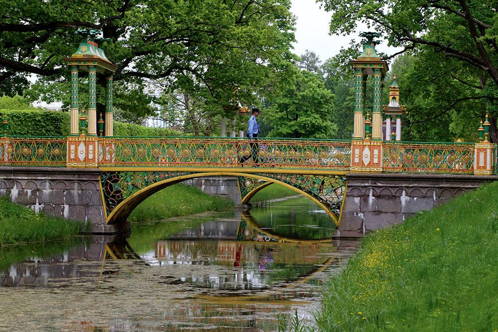 Китайские мостики в Царском селе