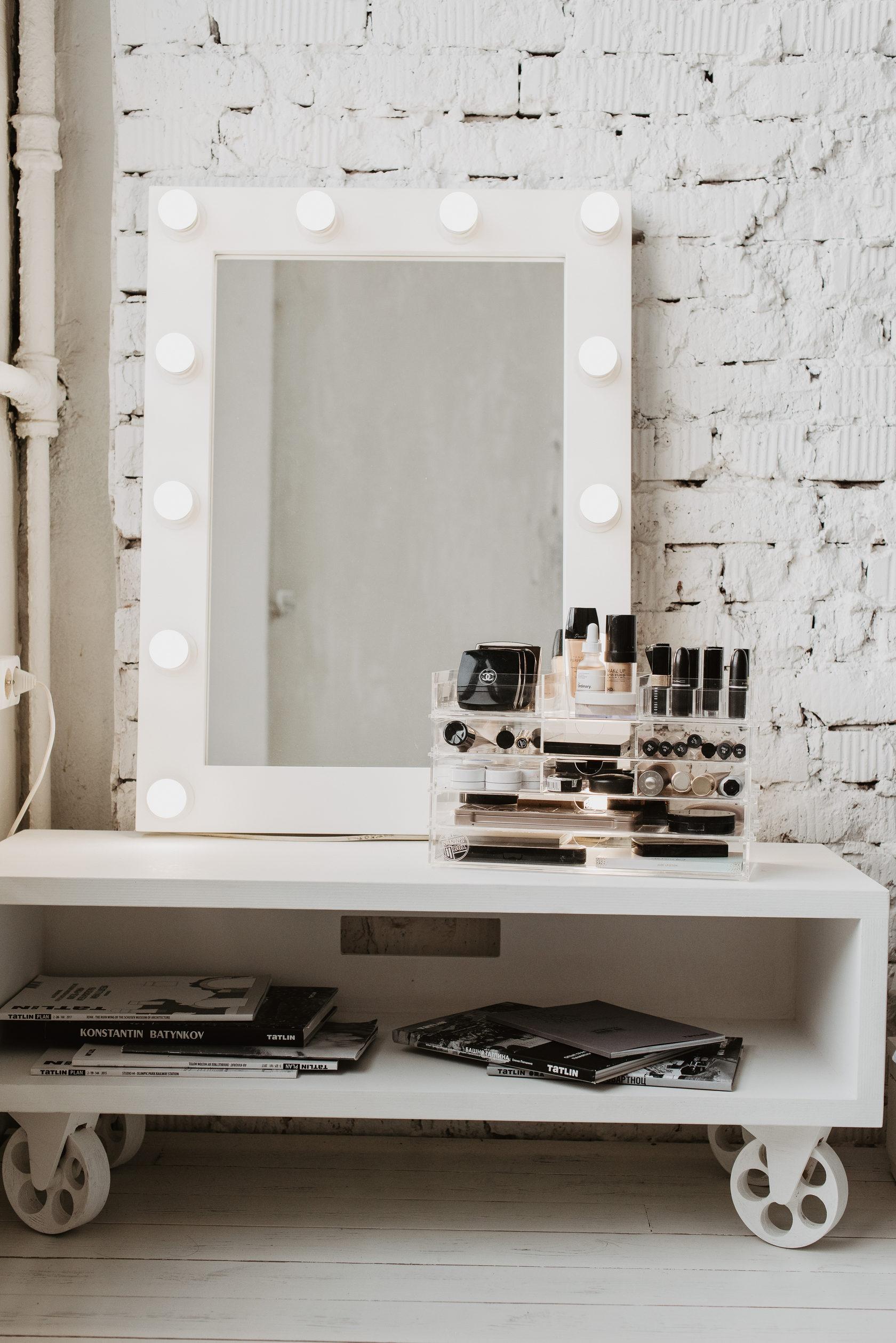 Как сделать гримерное зеркало фото 966