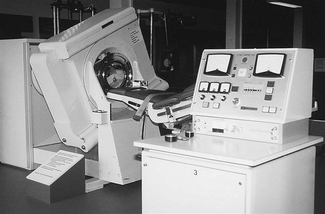 Проходят клинические испытания компьютерного рентгеновского томографа. 1972 год