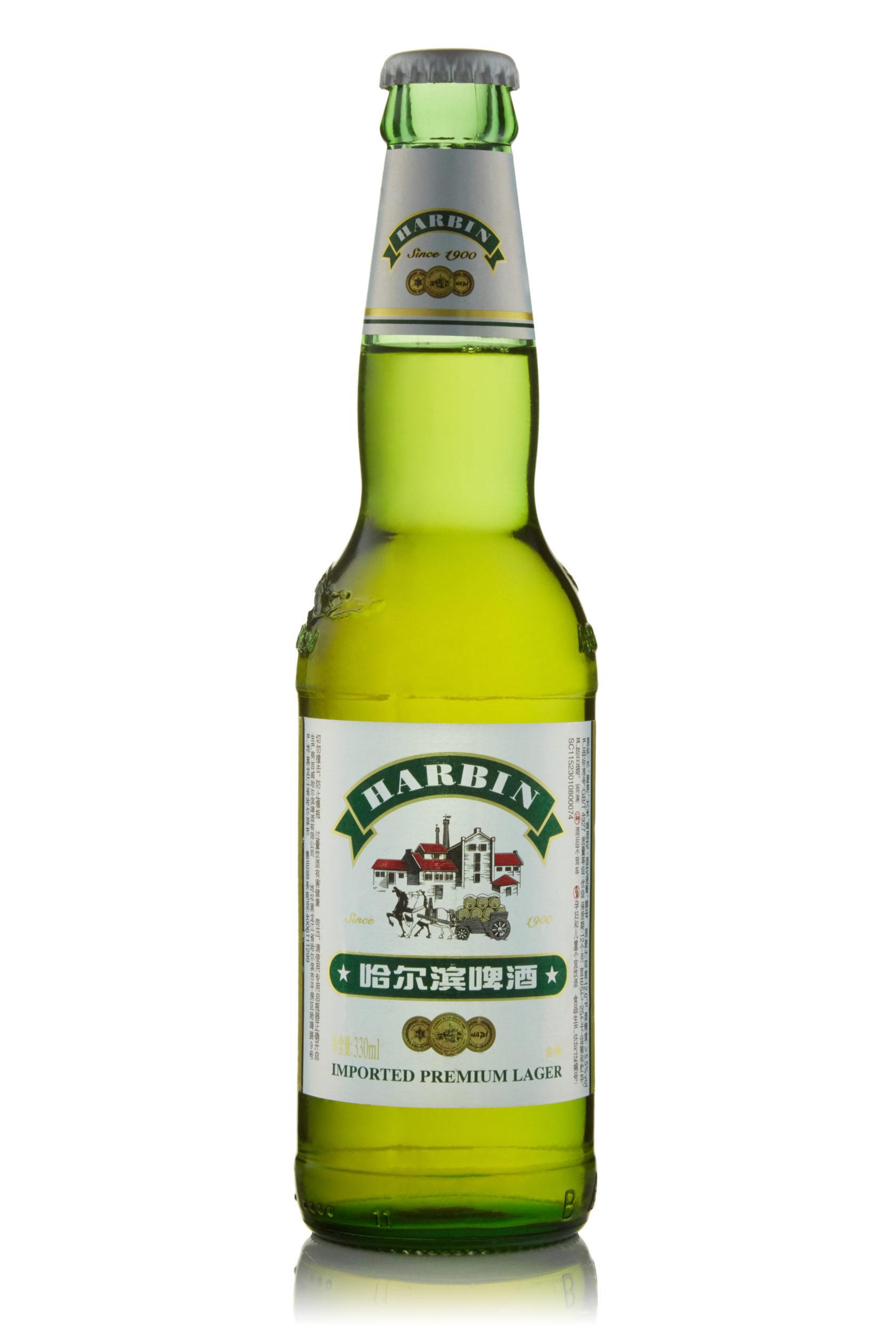 Купить пиво оптом Харбин Премиум 330 мл ст/б