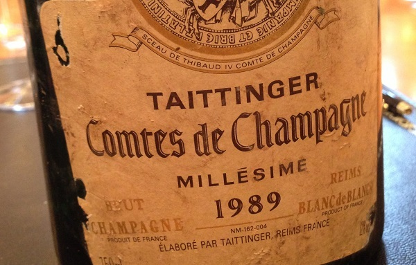 The 1989 Comtes de Champagne remains a benchmark
