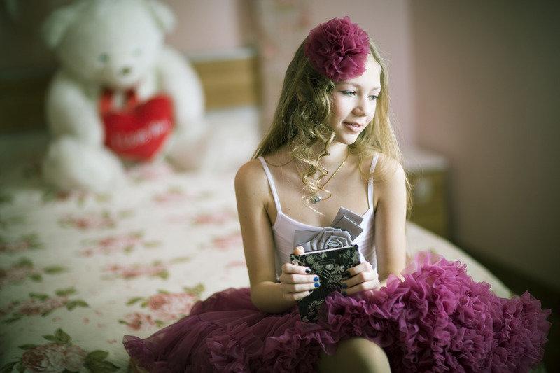 Фотосессия девочек дома