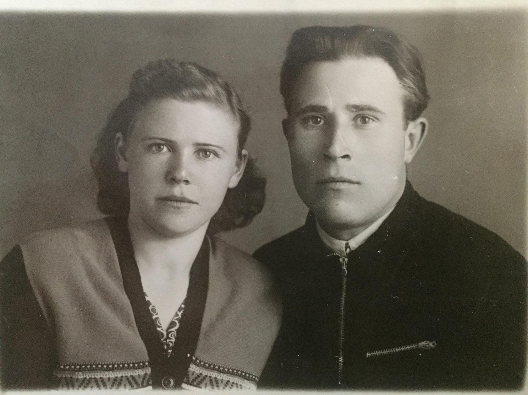 Турбановы Иван Васильевич и Антонина Алексеевна.