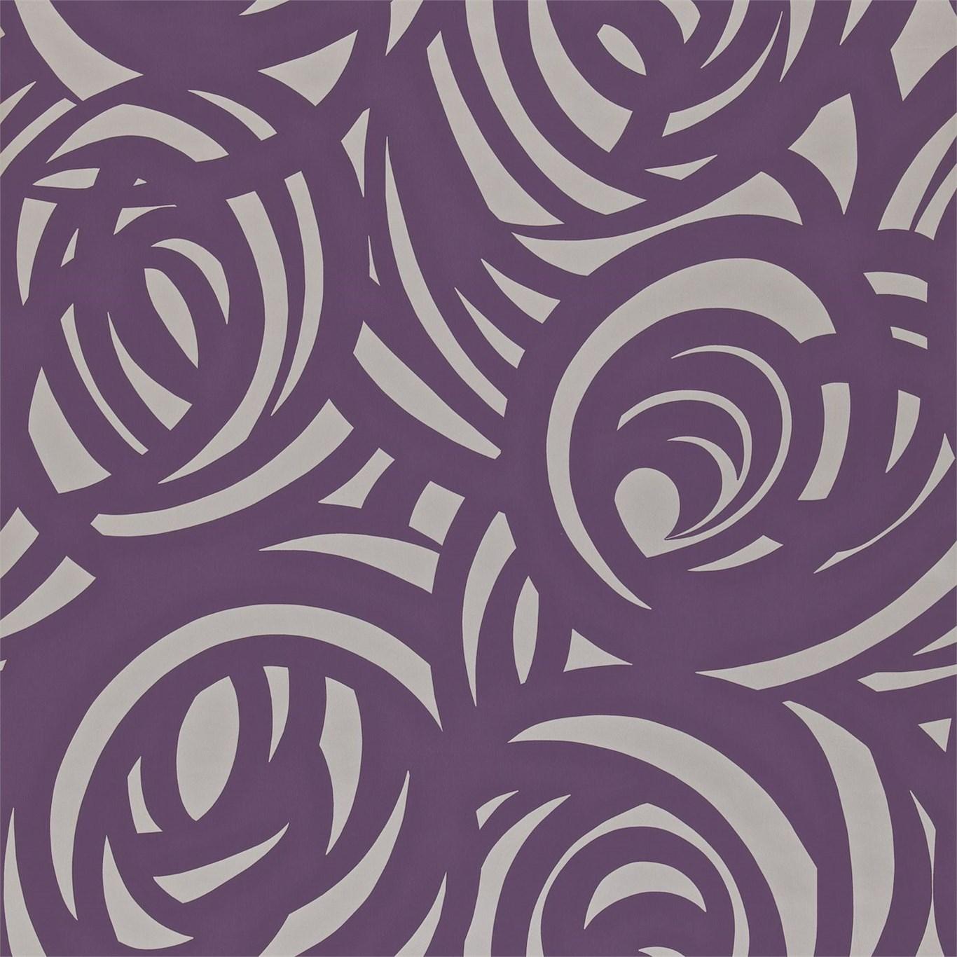 Фиолетовый принт картинки