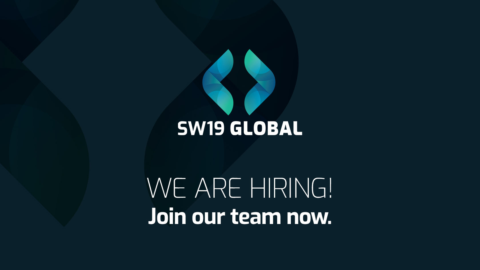 SW19 Job opening cover for junior analyst