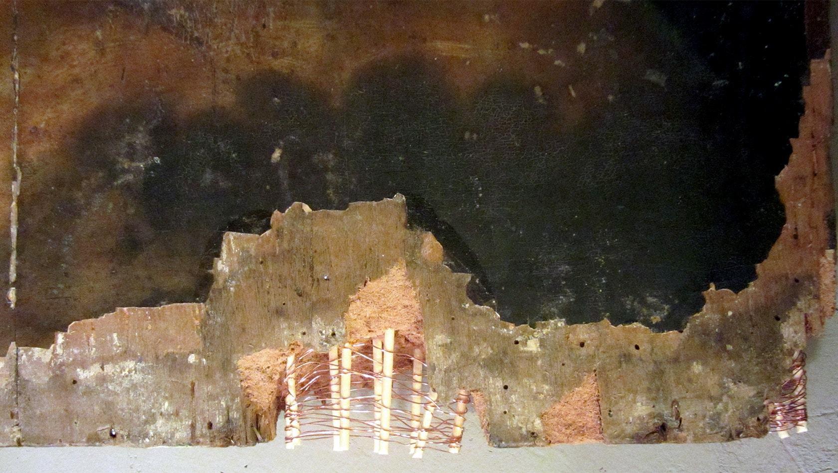 Реставрация икон, Спаситель , реставрация икон, реставрация старых икон, реставрация иконы Христа, реставрация икон этапы, реставрация иконы фото до и после