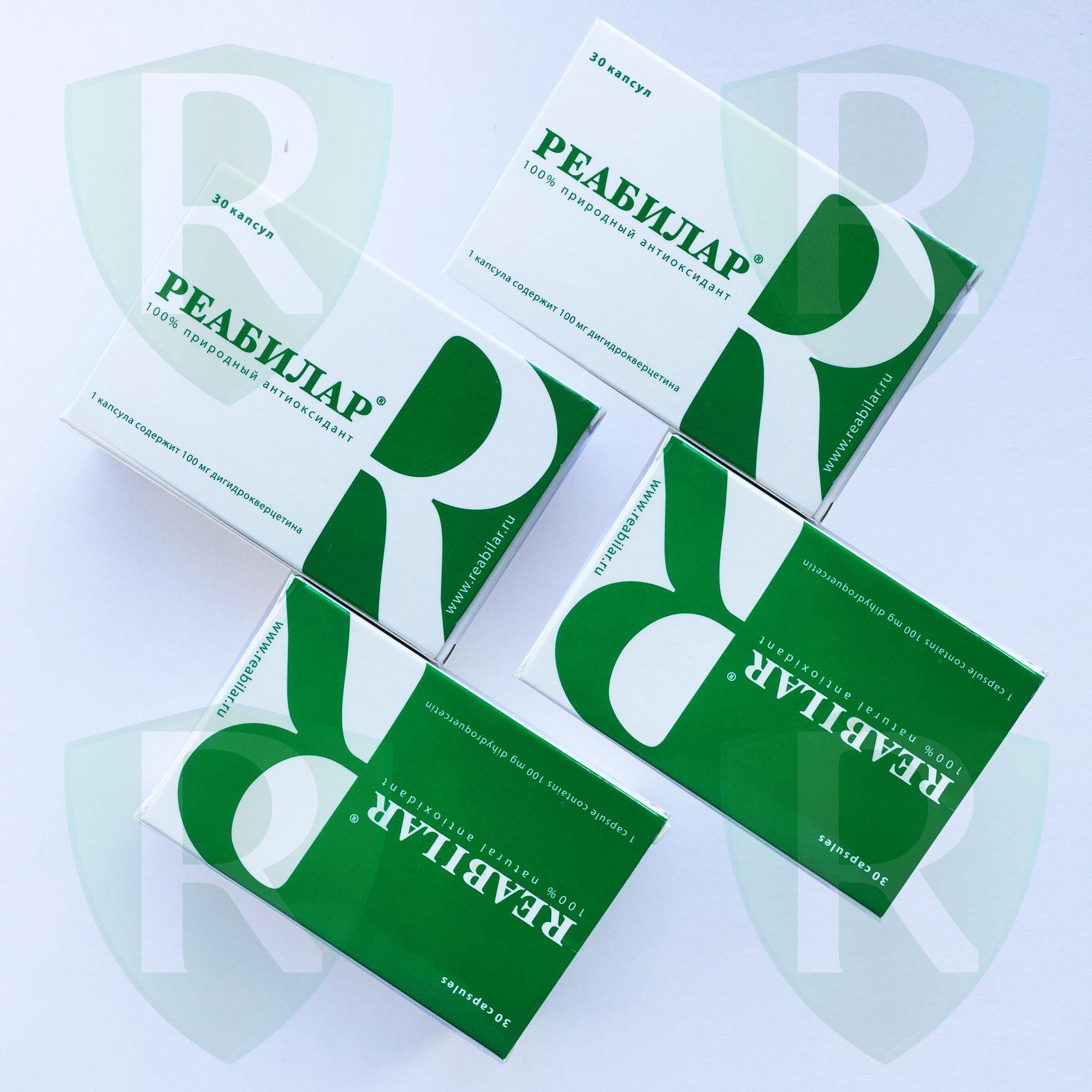 Купить Реабилар 4 упаковки в интернет магазине