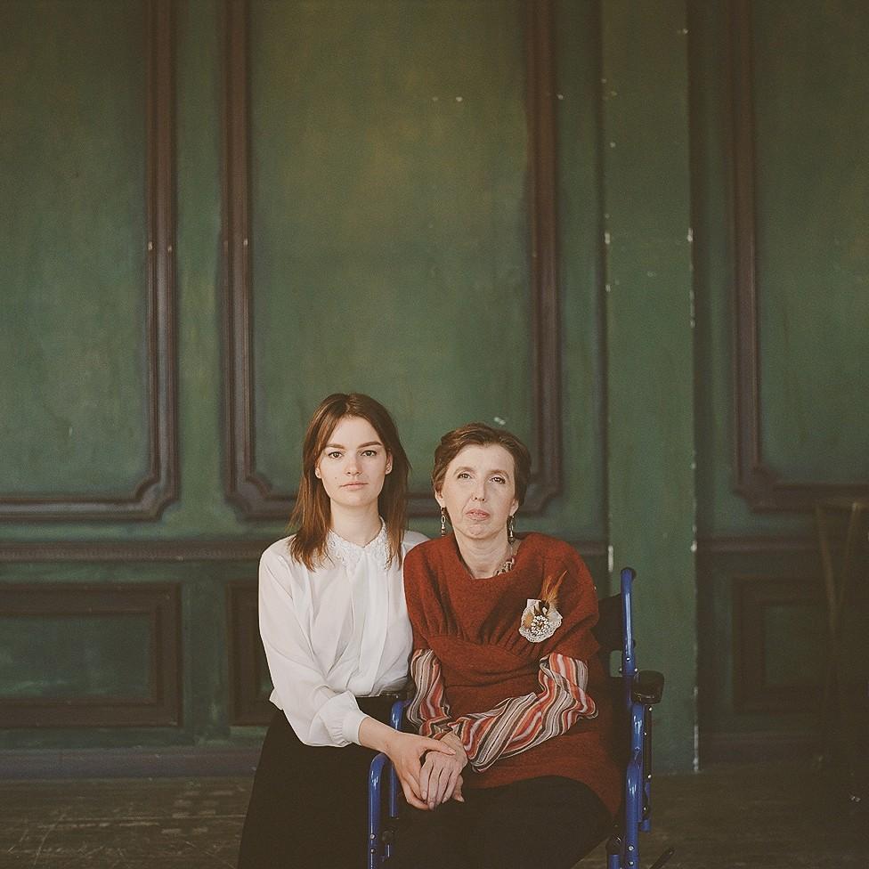 Инна Зайцева с мамой Юлией