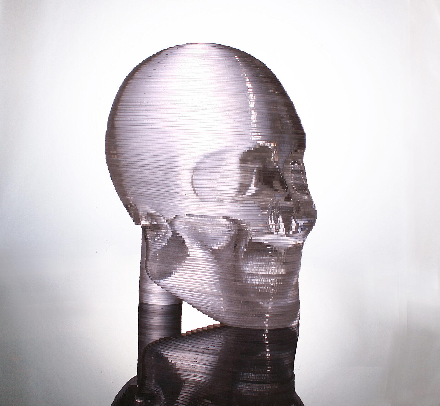 3D modely z plexiskla.