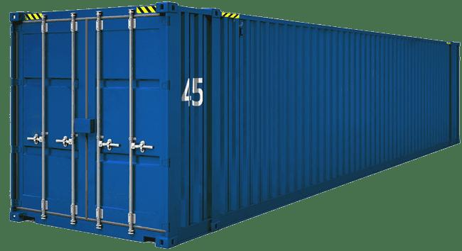 контейнер 45 фунтов высокий широкий HCPW