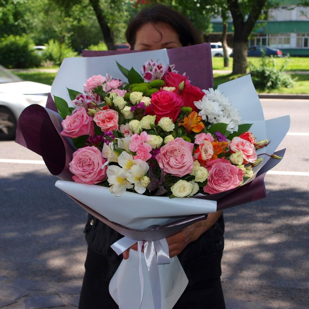 Спирали, букеты цветов в петербурге с доставкой алматы
