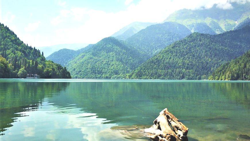 Тур Рассвет на озере Рица (Абхазия)