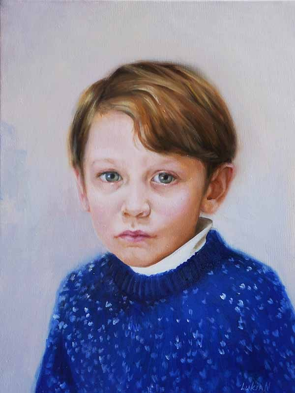 Заказать детский портрет