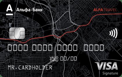 Кредитная карта AlfaTravel