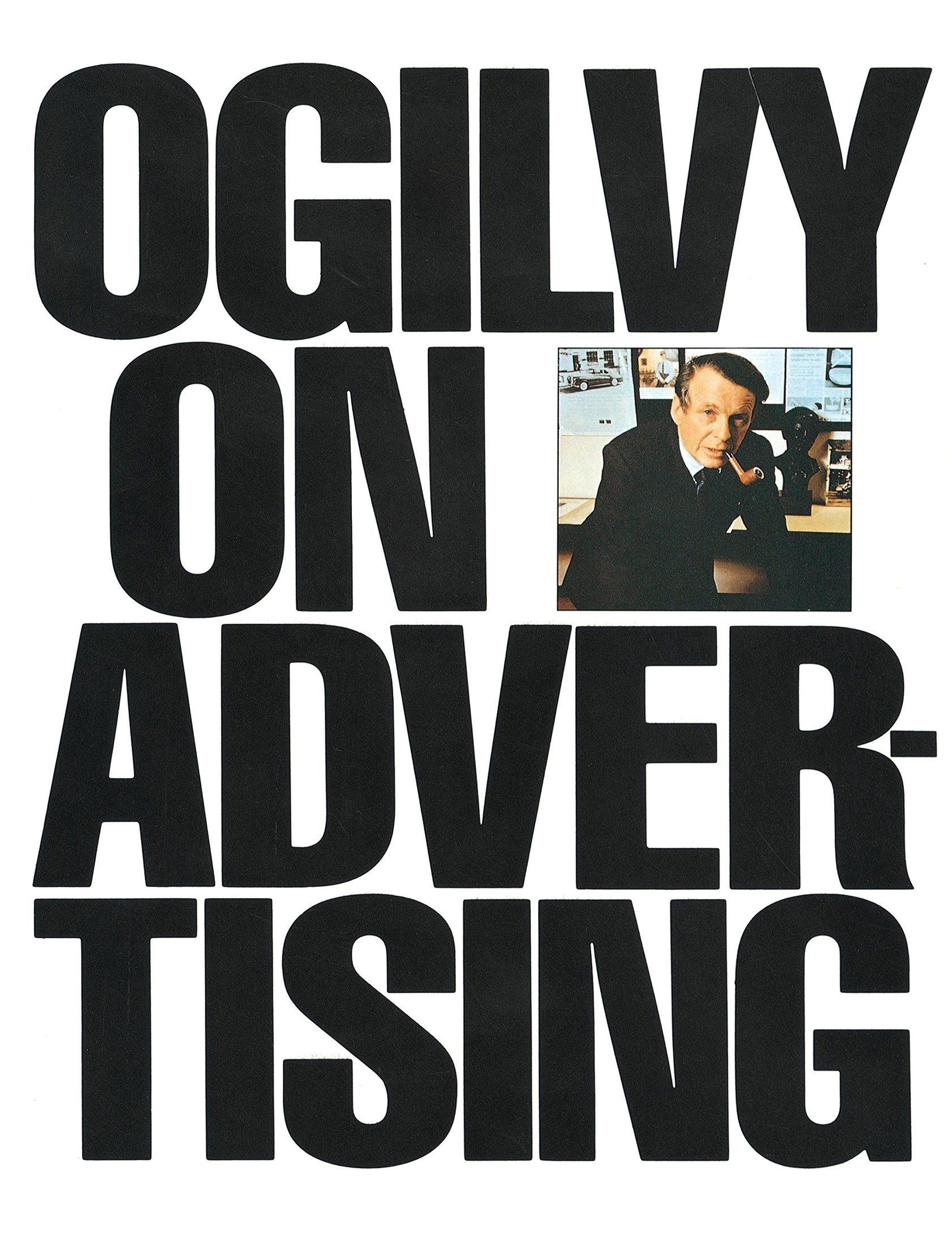 Book cover for Ogilvy on Advertising by David Ogilvy