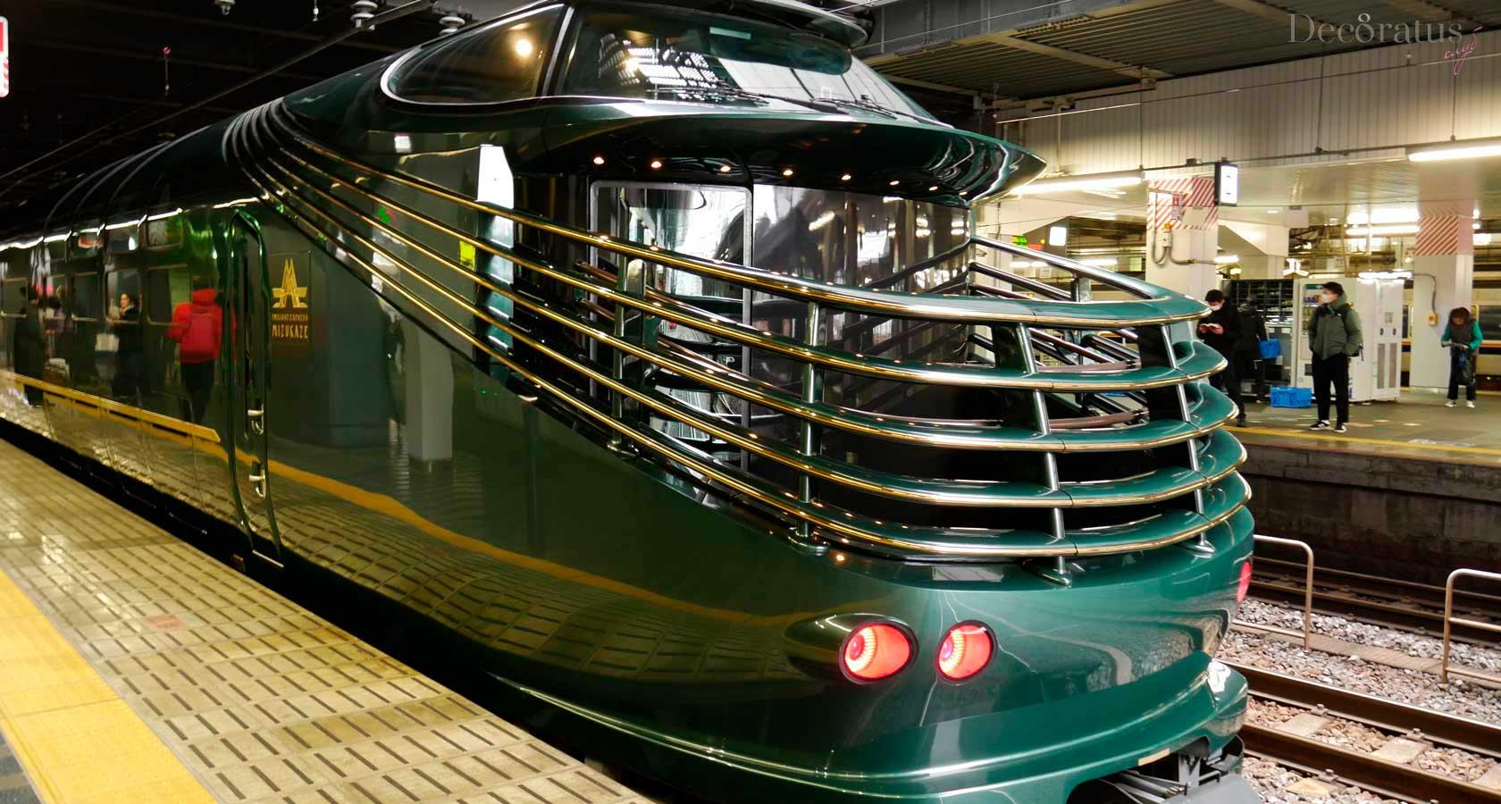 поезда японии и тематический состав Мизуказе