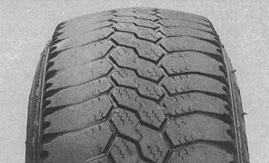 Недостаточное давление в шине