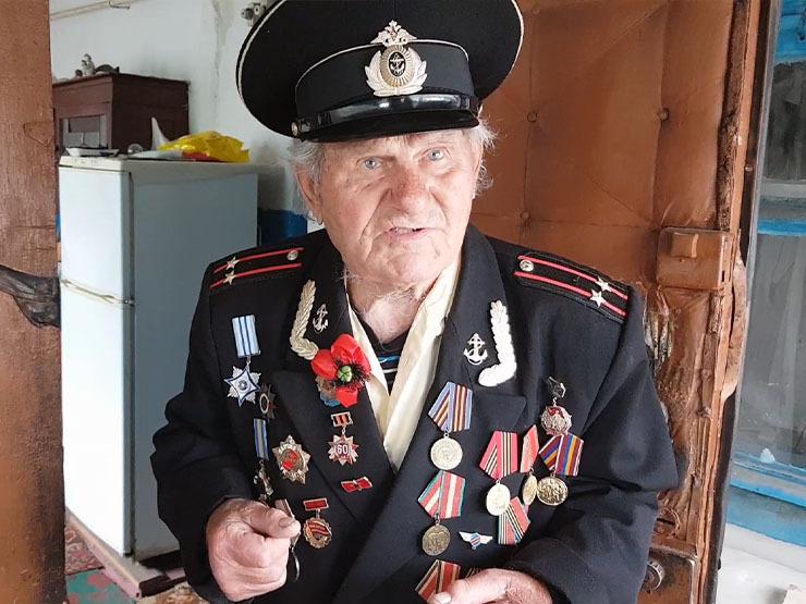 ветеран войны - фото