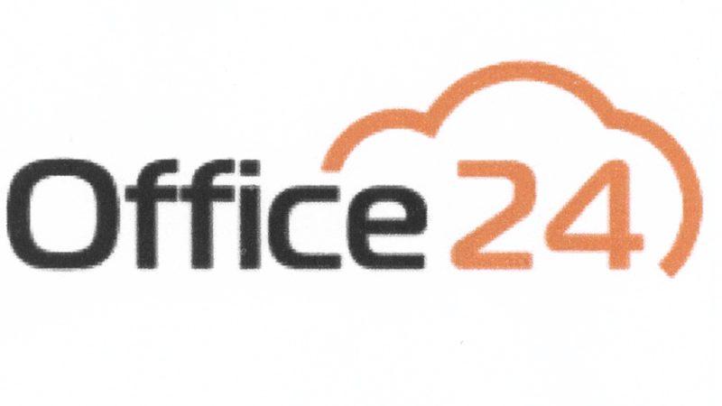 Логотип компании Office24, зарегистрированный в качестве товарного знака.