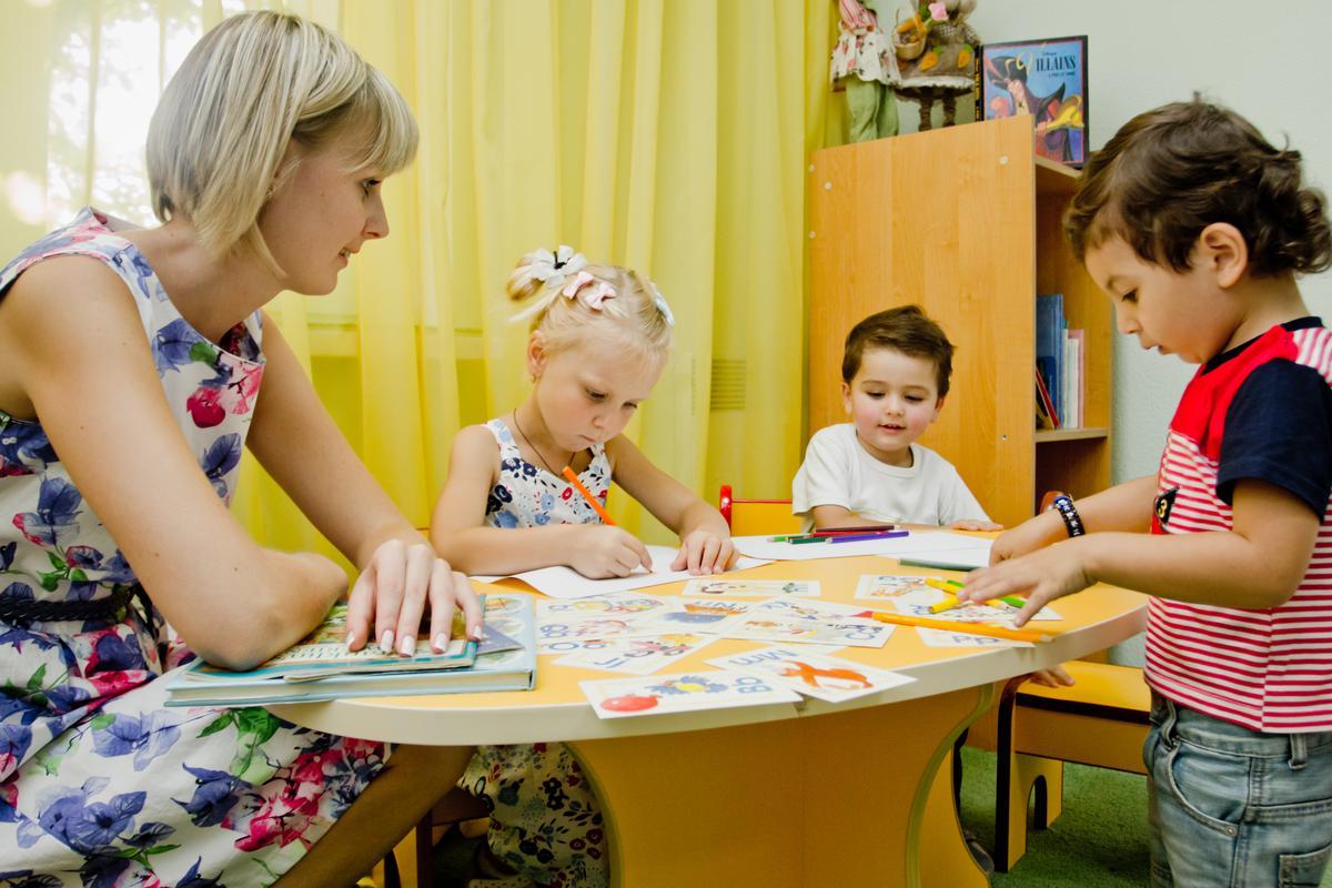 Занятие с детьми картинки