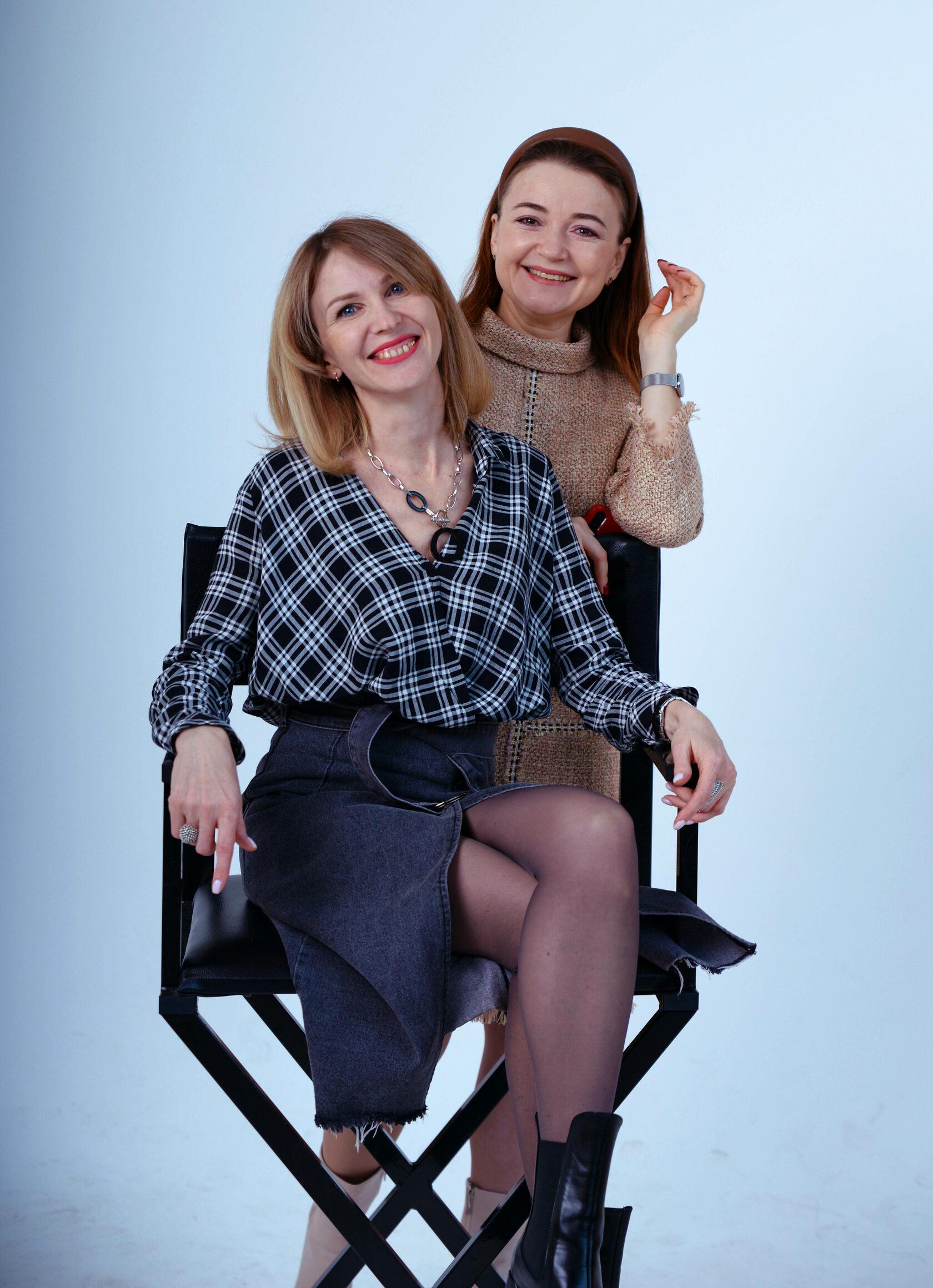 Ольга Литовкина и Ольга Иванченко