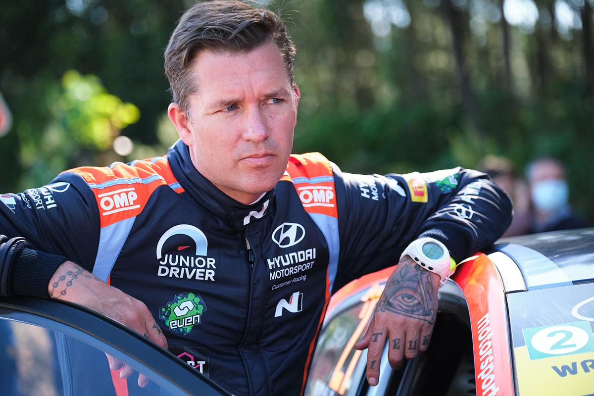Йонас Андерссон (Hyundai Motorsport N), ралли Португалия 2021