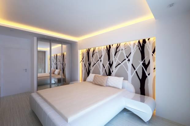 Неоновая подсветка для спальни