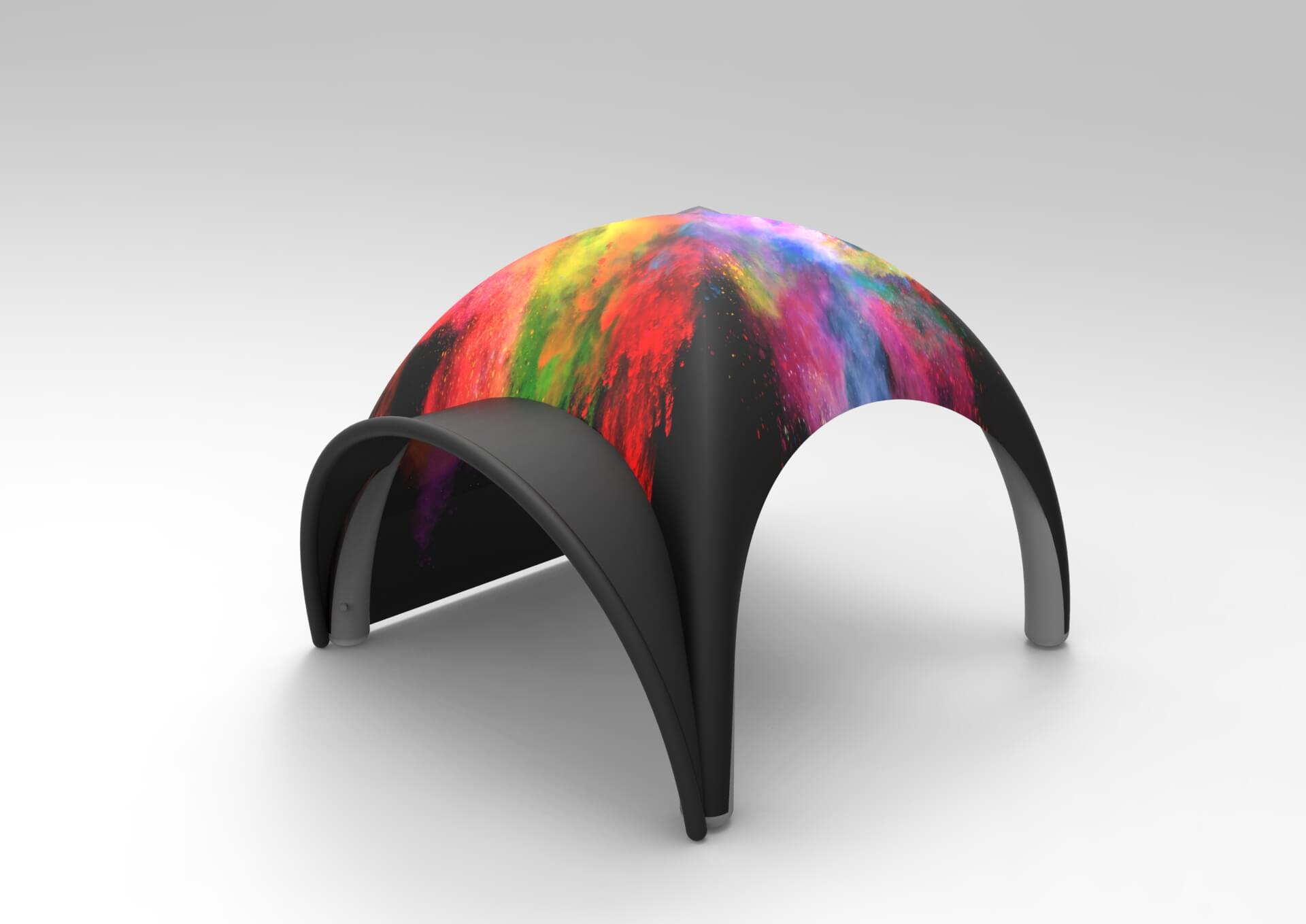 Уличные палатки тенты и шатры с логотипом и дизайном заказчика стоимость в Москве Farberg